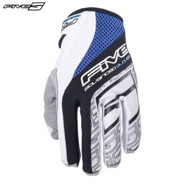 Five TRX Adult Gloves Blue/White