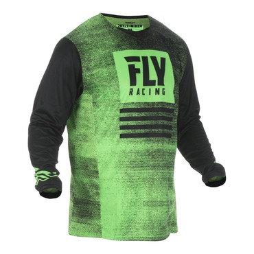 Fly 2019 Kinetic Noiz Adult Jersey (Neon Green/Black)