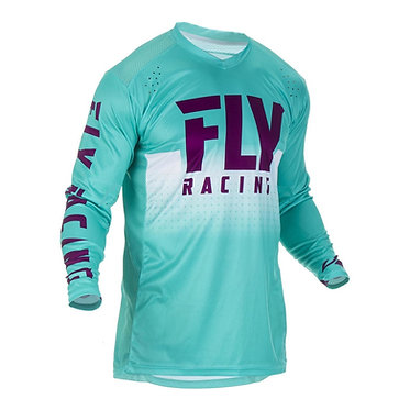 Fly 2019 Lite Hydrogen Adult Jersey (Seafoam/Port/White)