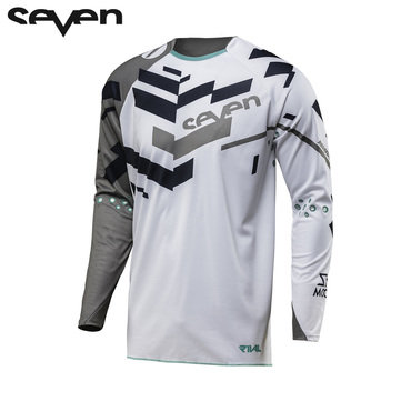Seven MX 18.2 Rival Adult Volume Jersey (Grey/White)