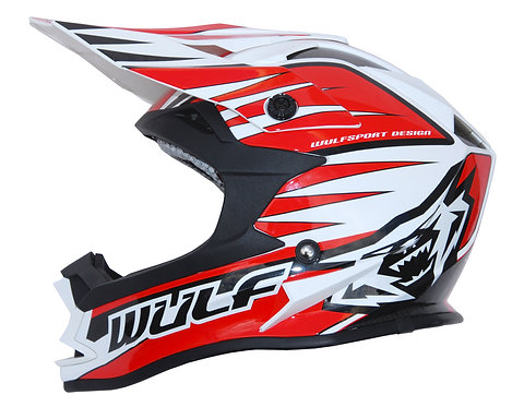 Wulfsport Kids Advance Helmets ( RED )