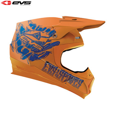 EVS T5 Egon Adult Helmet (Orange)