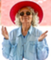 woman-wearing-red-hat-and-sunglasses-172