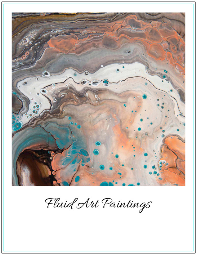 Fluid Art Paintings