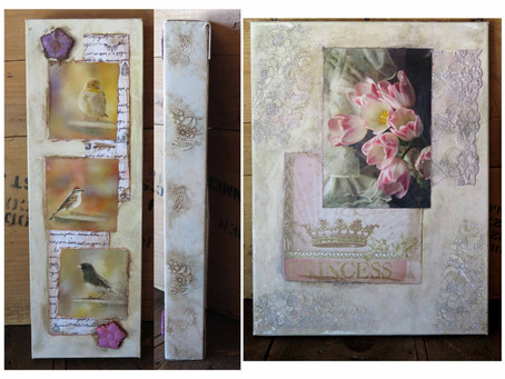 Trying Out Mixed Media