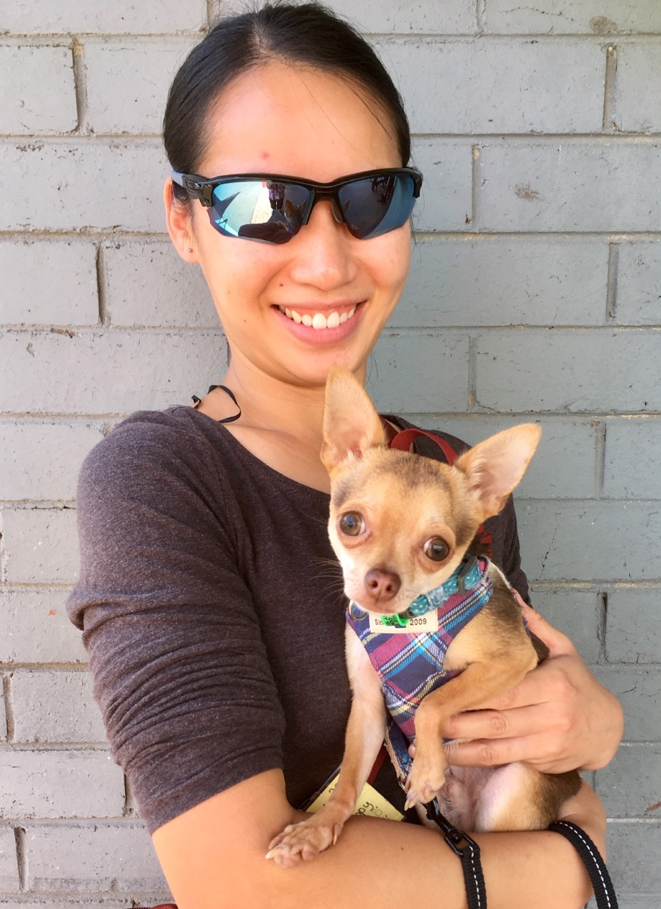 Eileen and Rocket Chihuahua 122