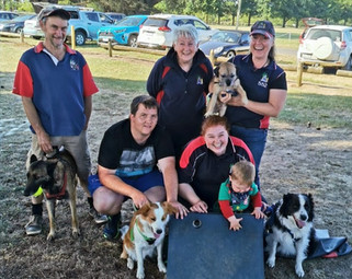 New Record for T'Keilor Flyball Team