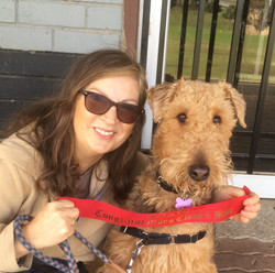 Maggie, the Airedale