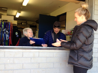 Feel like lending a hand? Consider helping in the kiosk