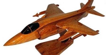 Sea Harrier - Wooden Model