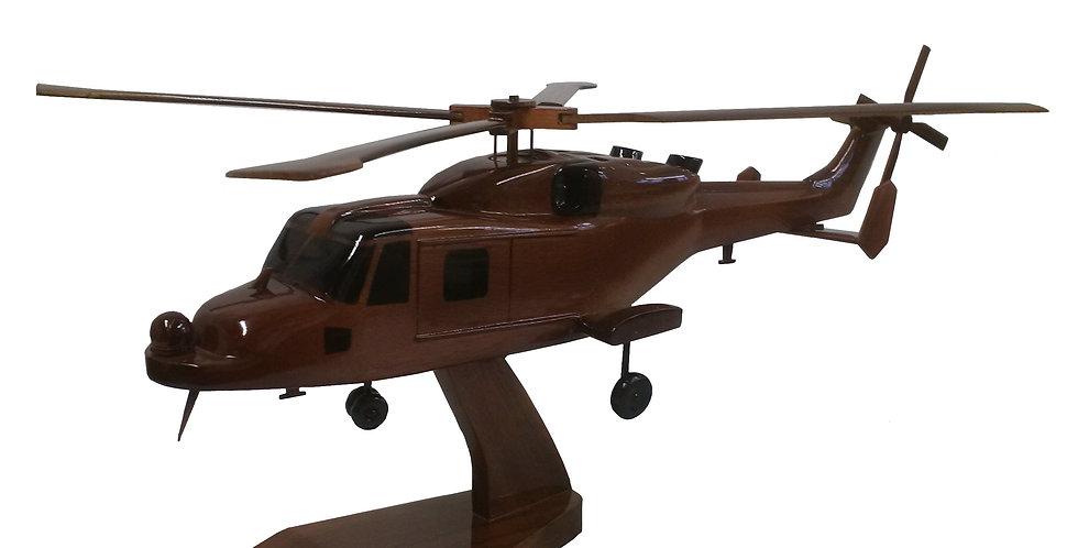 AW159 Wildcat - Wooden Model