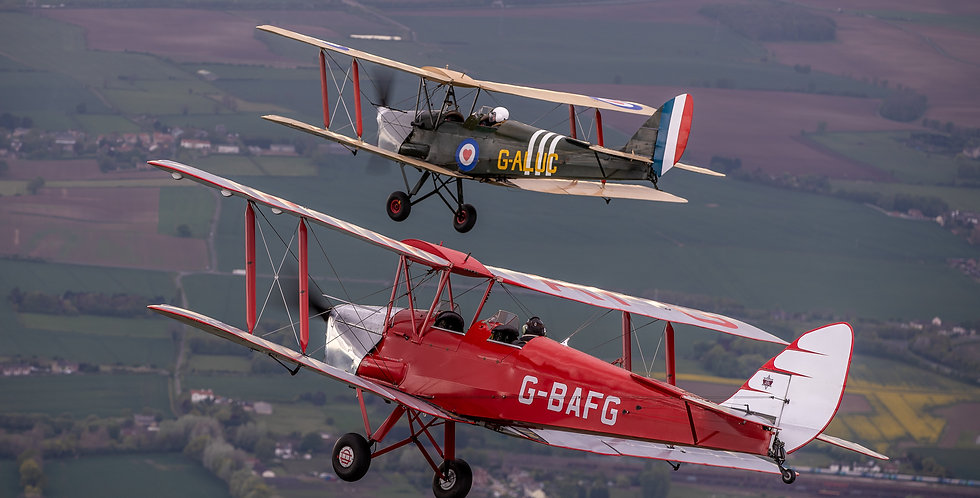 Tiger Moth 30 Minute Introductory Flight
