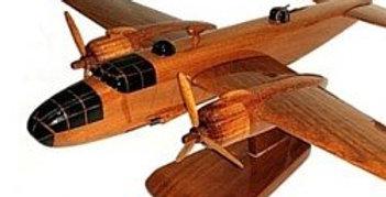 B25 Mitchell - Wooden Model
