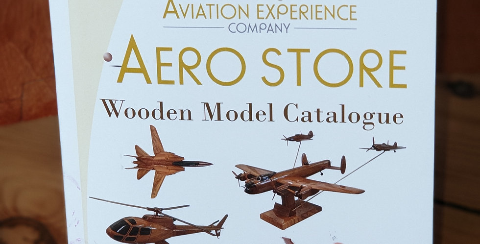 Wooden Model Catalogue