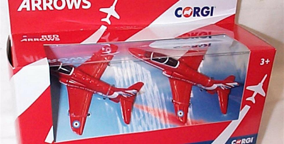 Corgi Red Arrows Synchro Pair Die Cast model