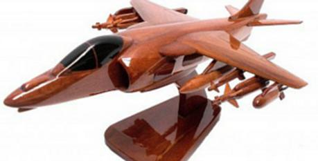 Harrier - Wooden Model