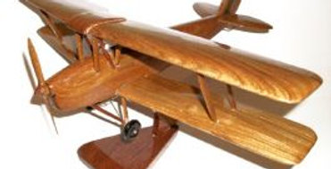 Tiger Moth - Wooden Model