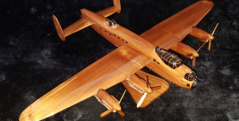 Lancaster Bomber - Wooden Model