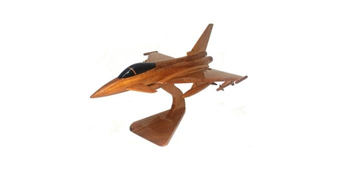 Euro Fighter Typhoon - Wooden Model