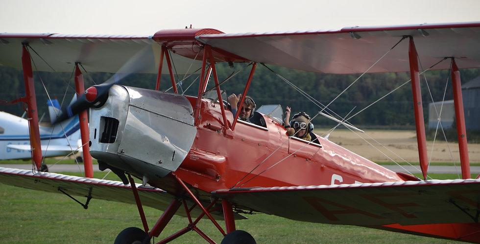 Tiger Moth 30 Minute Training Flight