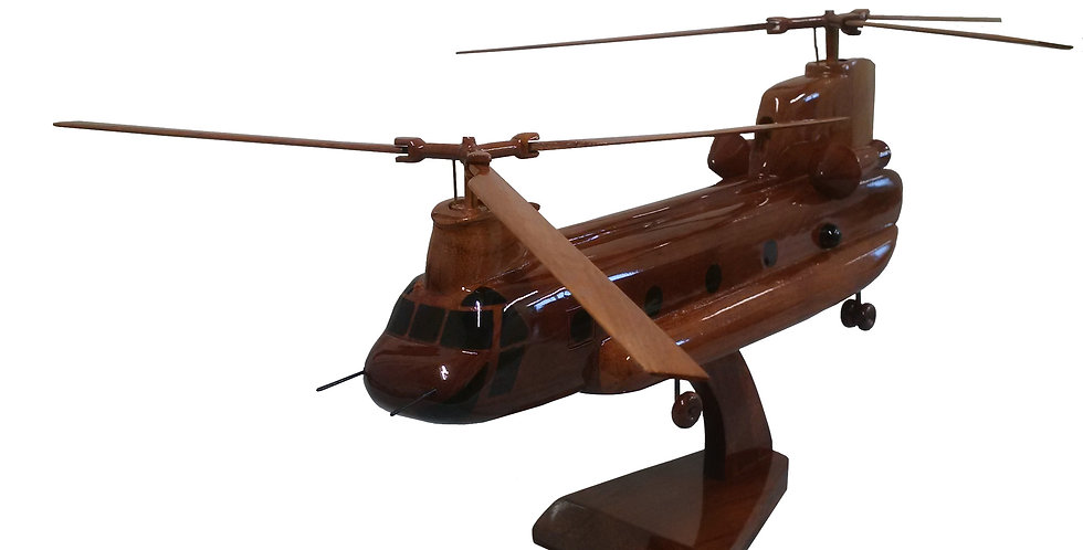 Chinook - Wooden Model