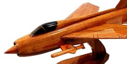 English Electric Lightning - Wooden Model
