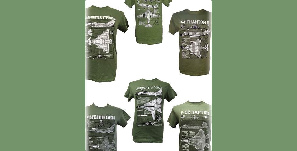 WMC Series -  Blueprint T-Shirts