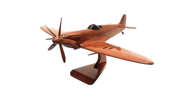 Spitfire - Wooden Model