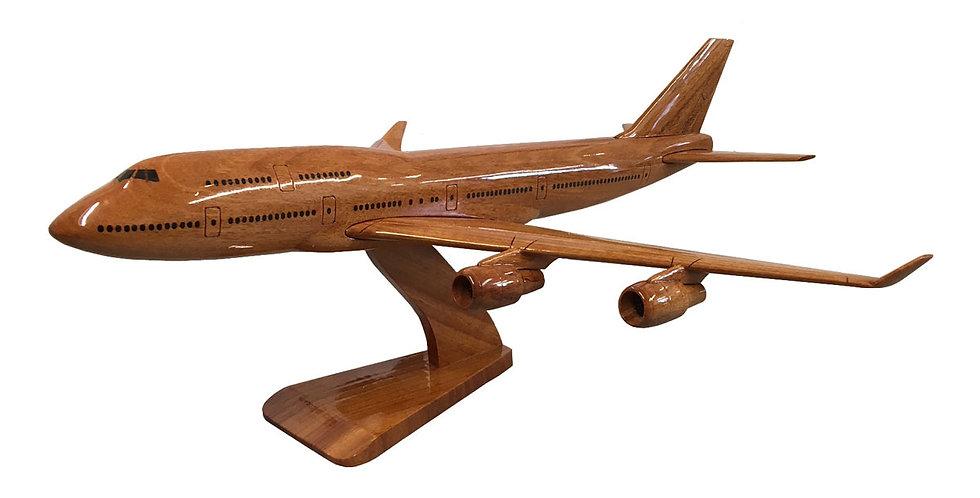 Boeing 747 - Wooden Model