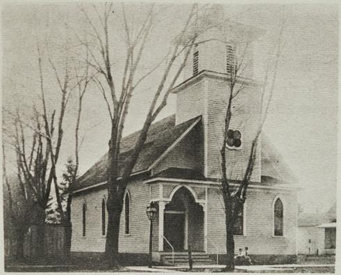 1st Baptist Church w street lantern -stu
