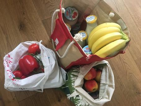 Erstes Einkaufen ohne Plastik...