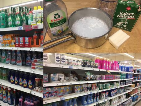 Reinigungsmittel - vom Plastik bereinigt...