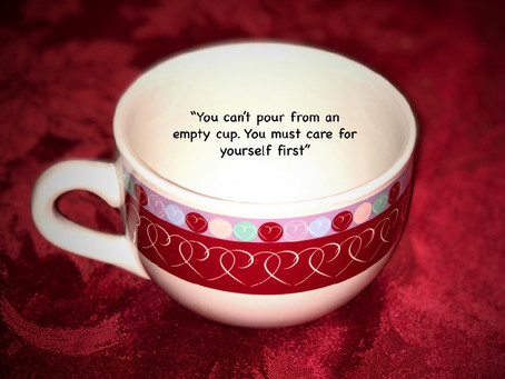 ARE YOU GIVING FROM AN EMPTY CUP?