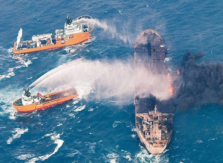 Family Members of Sanchi Oil Tanker Crew Bring an Action Against National Iranian Tanker Company