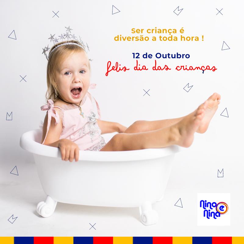 Dia das Crianças 2019 Loja Nino e Nina