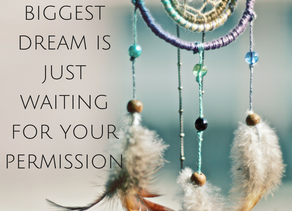 Simple steps to dream creation