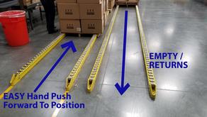 N-III Skid Pallet Roller Tracks For Fulfillment & Distribution Centers