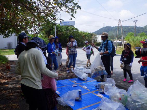 海岸漂着ゴミプログラム/調査と考察