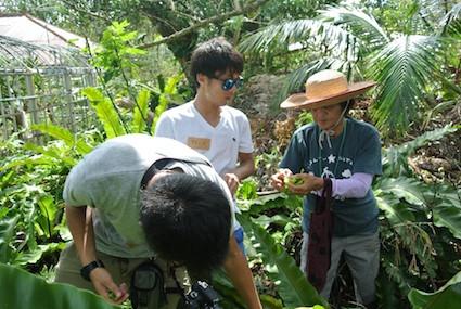 東海大学学生に村人体験プログラムを実施しました(前半)