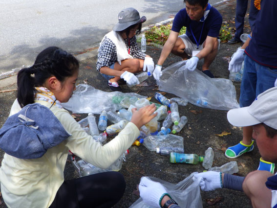 漂着ゴミプログラム/ペットボトルのカウント