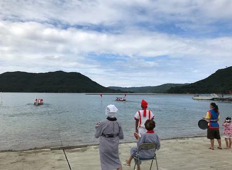 白浜海神祭で干立公民館勝利!