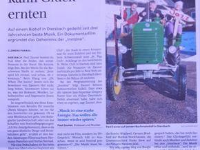 "Pressestimmen zu ""Paul Zauners Sound of Sauwald"""