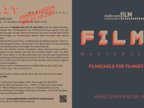 Jetzt anmelden zur FILM IT - MASTERSCHOOL 2021/22!