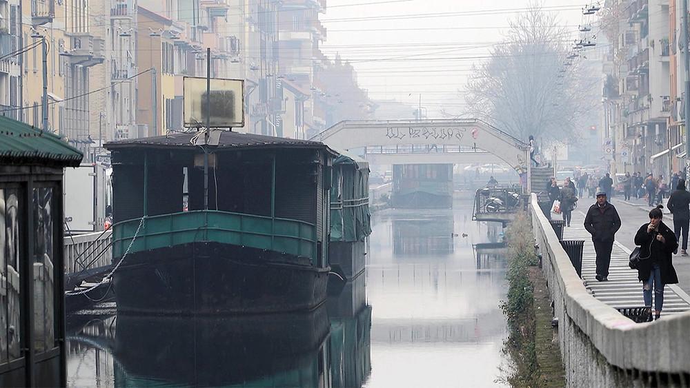 Navilip Pavese - einer der wenigen verbliebenen Kanäle Mailands