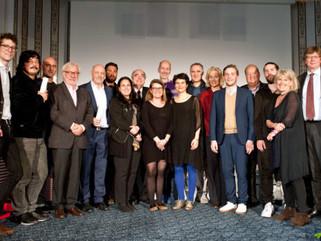 """Franz-Grabner-Preis 2017 für den besten Kinodokumentarfilm für """"Unten"""" von Djordje Čenić und Hermann"""
