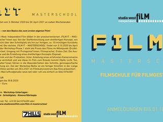 Jetzt anmelden zur FILM IT - MASTERSCHOOL 2020/21!