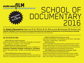 School of Documentary 2016