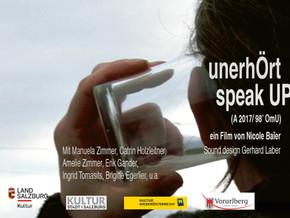 """26.02. - """"unerhÖrt / speak UP"""" (Premiere!) @ 25 Jahre Studio West"""