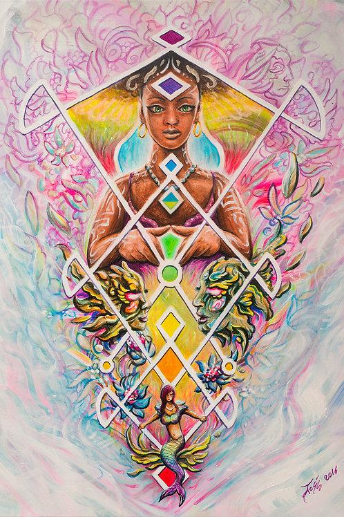 'Hypnotised' Prints