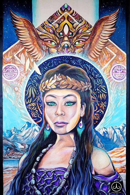 'Jyotisha' Original Canvas